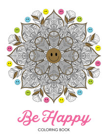 Be Happy Coloring Book (Paperback) *