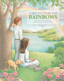 I Like to Look for Rainbows - Colouring Book ( Paper Back)