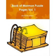 Book of Mormon Puzzle Pages Vol 1 *