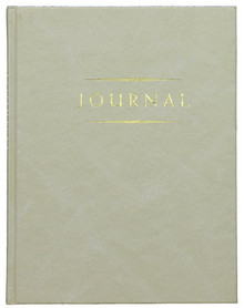 Small Classic Journal Grey (Hardcover) *