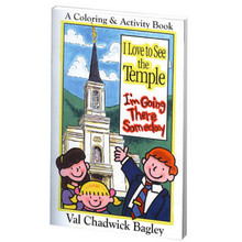 I Love to See the Temple Coloring Book (Paperback) *