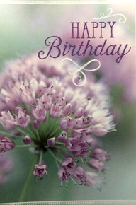 Happy Birthday - Greeting Card *