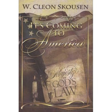 It's Coming To America - The Majesty Of God's Law (Hardcover Book) *
