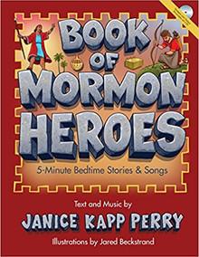 Book of Mormon Heroes: 5-Minute Bedtime Stories (Paperback) *