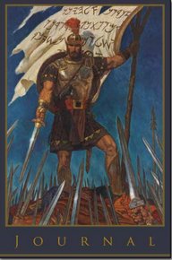 Captain Moroni Journal  (Paperback) * Cover Art By Arnold Friberg