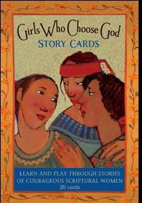 Girls Who Choose God Story Cards *
