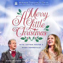 A Merry Little Christmas:  Mormon tabernacle choir & Orchestra at Temple Square(CD) *