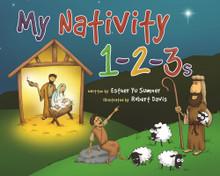 My Nativity 1-2-3s (Hardcover)