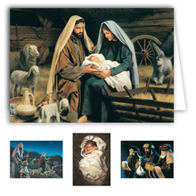 Simon Dewey Christmas Note Card Box Set (20 cards)