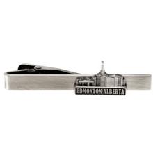 Edmonton Alberta Temple  Tie Clip Silver