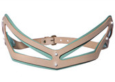 Fleet Ilya Slim Cut Out Belt (Peppermint)