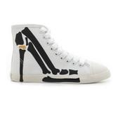 Be & D Skeleton Stiletto High Top Sneaker