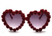 A-Morir Donna Rosebud Heart Sunglasses