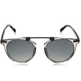 John Varvatos V602 Soho Bar Polarized Sunglasses (Grey Crystal)