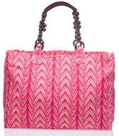 Vix Beach Tote with Beaded Handles