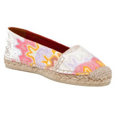 Missoni Espadrille Flat (Orange)