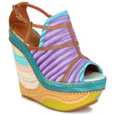 Missoni Peep Toe Platform Wedge