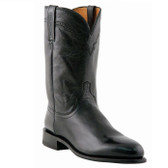 Lucchese Lonestar Roper Calf Boot (Black)