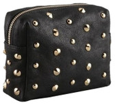 Be & D Luxe Heather Studded Pouch
