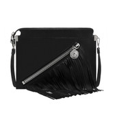 Versus Lion Head Fringe Shoulder Bag