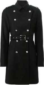 Versus Double Breasted Military Trench Coat