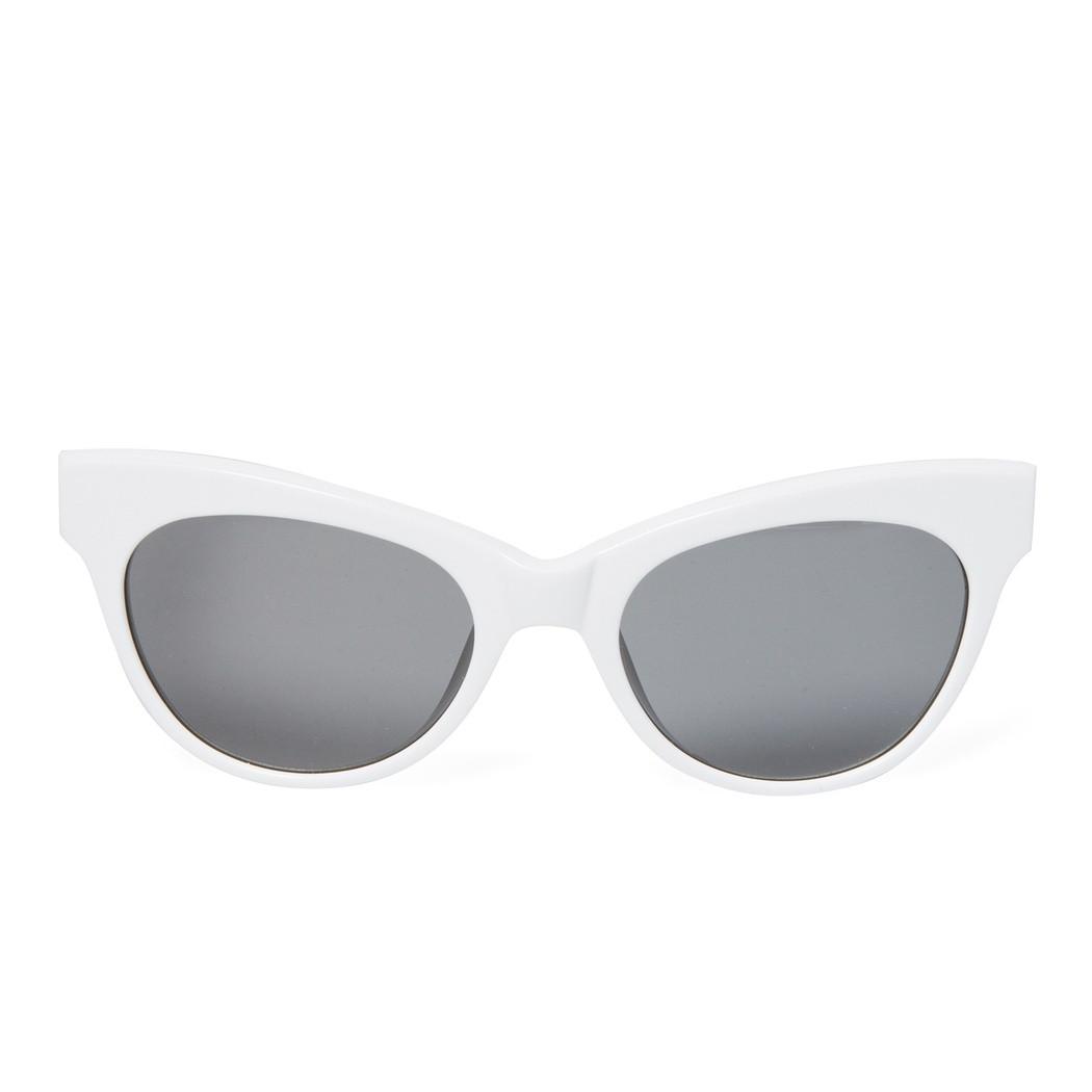 36322041e959 Linda Farrow X The Row Cateye Leather Sunglasses