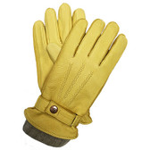 Hilts-Willard Men's Cooper Deerskin Gloves (Saddle)
