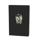D.L. & Co. Delft Skull Black Large Journal