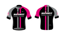 Against Breast Cancer Cycling Jersey - Black