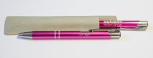 25 Years Against Breast Cancer Metal Ballpen