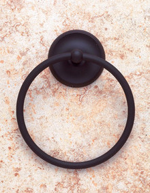 JVJ 20106 Paramount Series Oil Rubbed Bronze Finish Towel Ring
