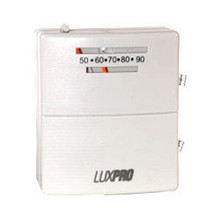 Luxpro PSM40SA Heat & Cool Mechanical Thermostat with Adjustable Heat Anticipator