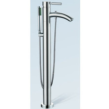 Wyndham WCAT102340P11PC Taron Floor Mounted Tub Filler Faucet with Handshower - Chrome