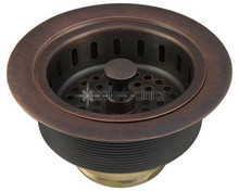 Polaris Strainer-C Standard Kitchen Basket Strainer Assembly - Copper