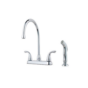 Price Pfister G136 5000 Pfirst Series Two Handle Kitchen Faucet With