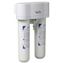 AQUA-PURE AP-DWS1000LF Less Faucet Dual Stage Drinking Water Filtration System
