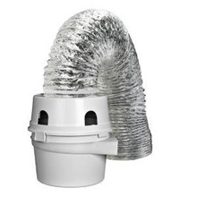 Dundas Jafine TDIDVKZW ProFlex Indoor Dryer Vent Kit