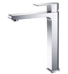Fresca FFT9152CH Single Hole Vessel Mount Bathroom Vanity Faucet - Chrome