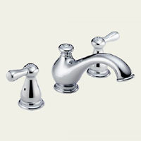 Delta T2778-LHP Two Handle Roman Tub Faucet - - Chrome