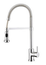 Aquabrass 30045BN Commercial Style Pull Down Kitchen Faucet  - Brushed Nickel