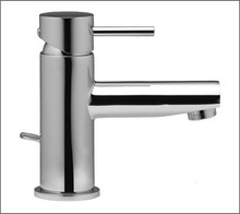 Aquabrass 61014BN Single Handle Lavatory Or Vessel Faucet - Straight Lever Handles - Brushed Nickel