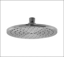 Aquabrass 2108BN 8'' Round & Thin Rain Head Rainfall Showerhead - Brushed Nickel