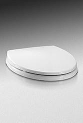TOTO SS113#01 SoftClose Soft Close Round Toilet Seat - Cotton White