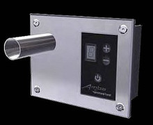 Amba Digital Heat Controller with Five Settings - Polished Nickel - ATW-DHC-P - For Towel Warmer