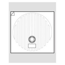 """WarmlyYours FFM-20R Circular 20"""" Mirror Defogger"""