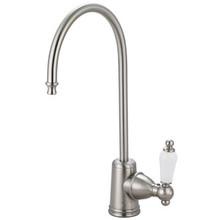Kingston Brass Water Filtration Filtering Faucet - Satin Nickel KS7198PL