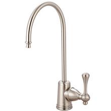 Kingston Brass Water Filtration Filtering Faucet - Satin Nickel KS7198BL