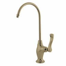 Kingston Brass Water Filtration Filtering Faucet - Polished Brass KS3192FL