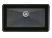 "Blanco Precis 440149 Undermount 32"" x 18 3/4"" Super Large Single Bowl Silgranit Kitchen Sink - Anthracite"
