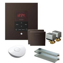 Mr. Steam MSBUTLER2SQ-ORB Butler Package with (2) iTempo Pro Square Programmable Control for Steam Bath Generator - Oil Rubbed Bronze